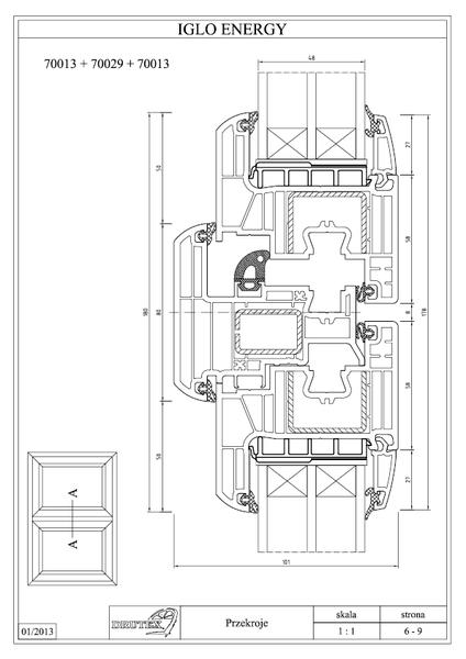 windoor iglo energy classic windoor gmbh. Black Bedroom Furniture Sets. Home Design Ideas
